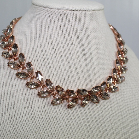 BaubleBar Jewelry - Baublebar Rosegold Crystal Butterfly Necklace